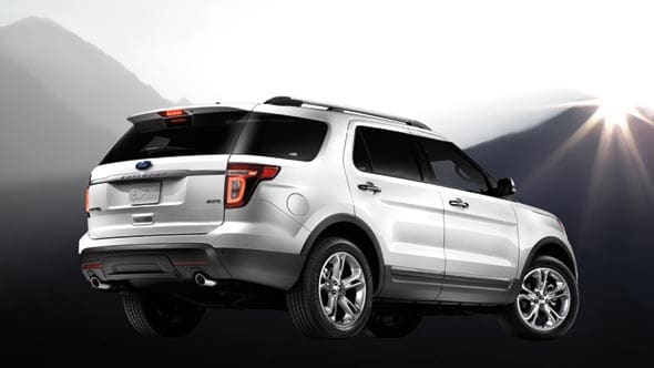 2014 Ford Explorer Exterior Rear End