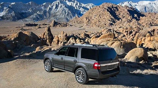 2015 Ford Expedition Platinum Exterior Rear