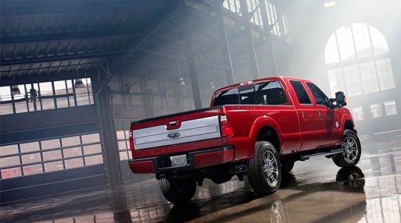 2014 Ford F-250 Exterior Rear End