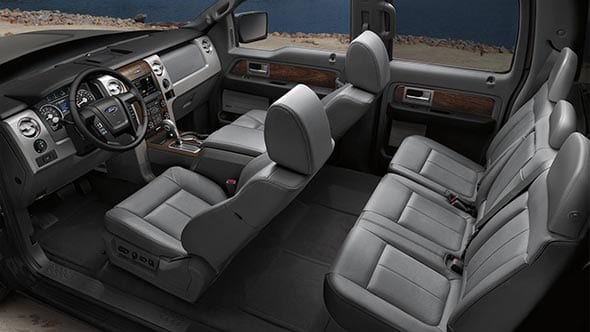 2014 Ford F-150 Lariat Interior