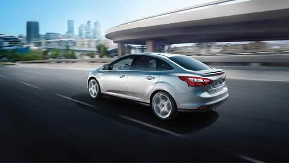 2014 Ford Focus Titanium Exterior Rear