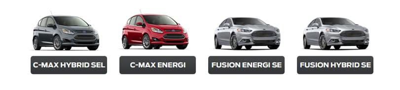 Hybrid and EV Lineup