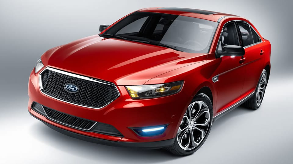 2015 Ford Taurus Exterior Front View