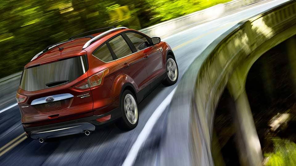 2014 Ford Escape Titanium Exterior Rear