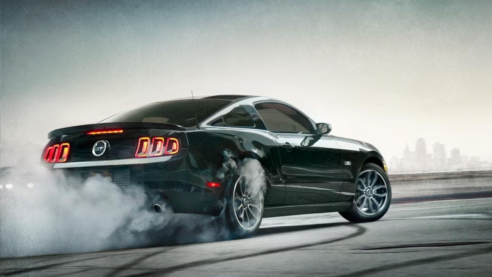 2014 Ford Mustang Exterior Rear