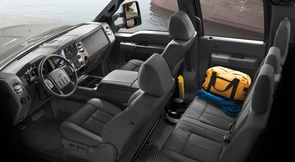 2014 Ford F-250 Interior Seating