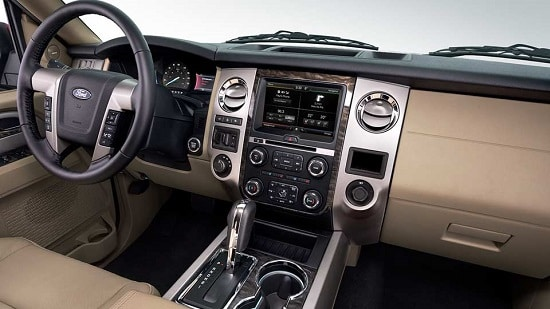 2015 Ford Expedition Limited Interior
