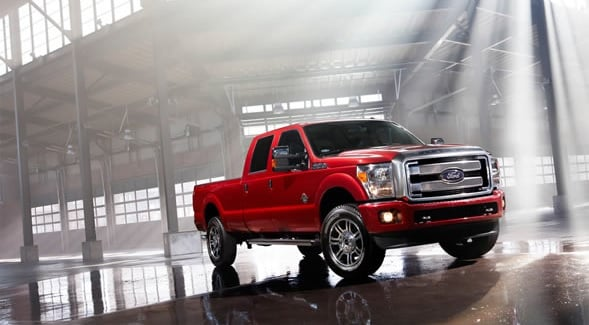 2015 Ford F-350 Super Duty Exterior Side View