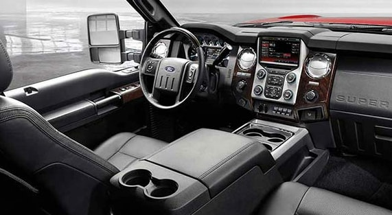 2015 Ford F-250 Super Duty Interior