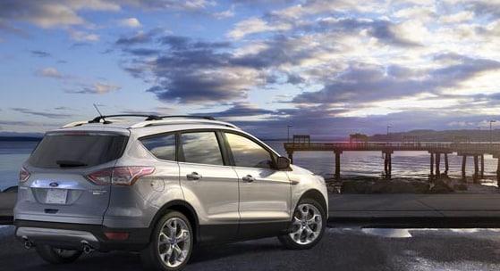 2015 Ford Escape Exterior Rear