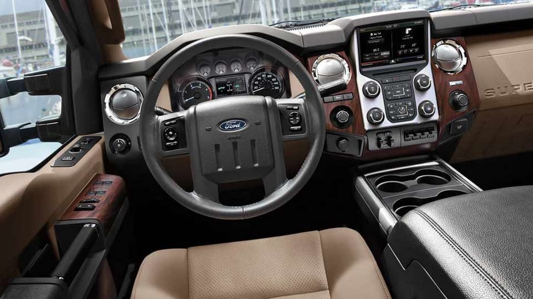 2014 Ford F-350 Super Duty Truck Interior View