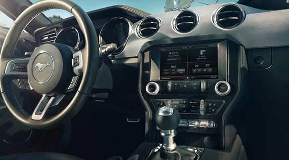 2015 Ford Mustang GT Interior Dashboard