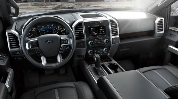 2015 Ford F-150 Platinum Interior Dashboard