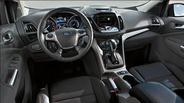 2014 Ford Escape Interior Dashboard