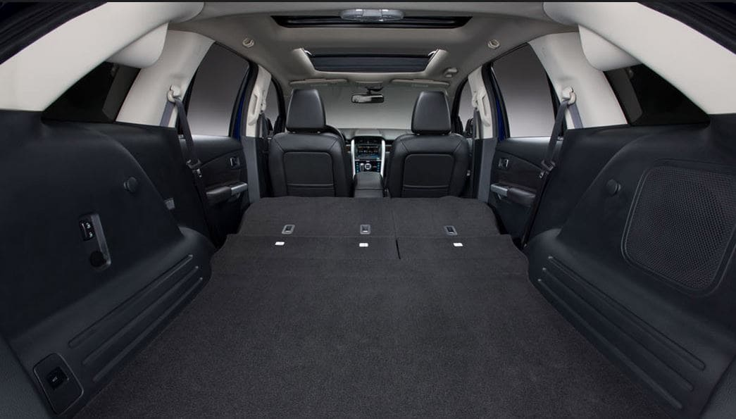 2014 Ford Edge Fold Flat Rear Seats