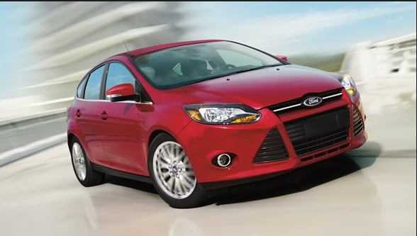 2014 Ford Focus Exterior Front End