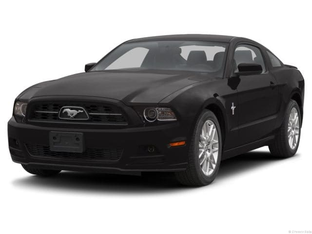2013 ford mustang front