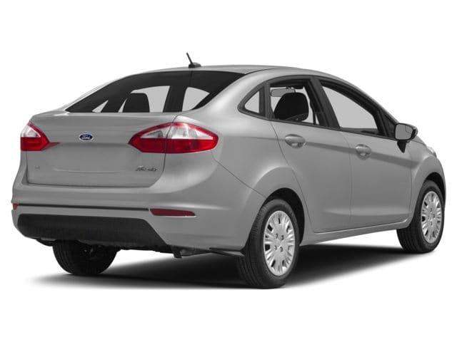 2014 Ford Fiesta Sedan Exterior Rear