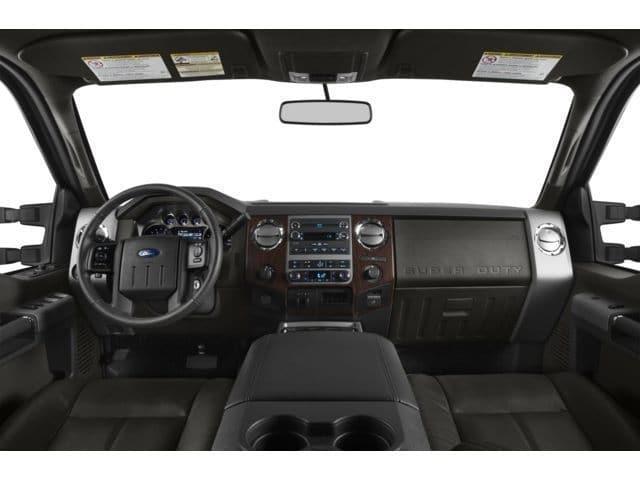 2014 Ford F-450 Interior
