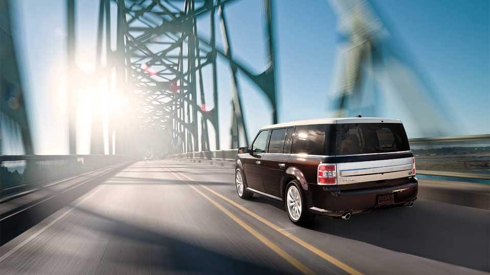2014 Ford Flex Exterior Rear