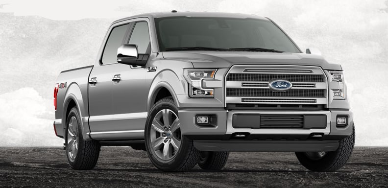 2015 Ford F-150 Platinum Exterior Front End