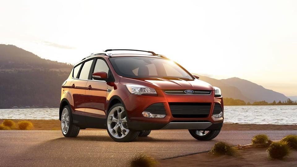 2014 Ford Escape Titanium Exterior Front