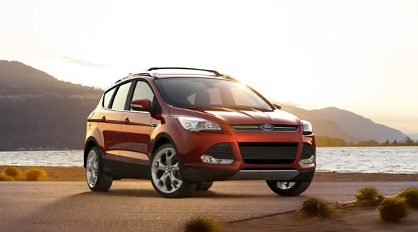 2014 Ford Escape Exterior Front End