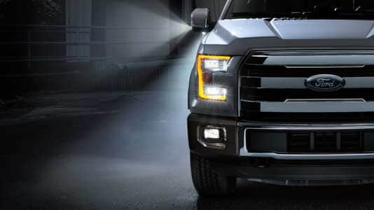 2015 Ford F-150 Platinum Exterior Lighting