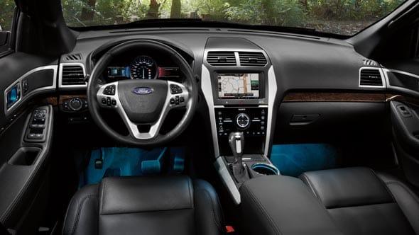 2015 Ford Explorer Interior