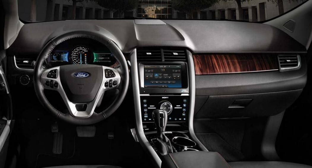 2014 Ford Edge Interior View
