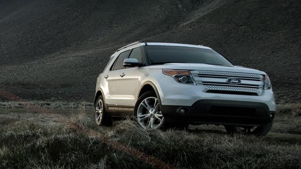 2014 Ford Explorer Exterior Front End