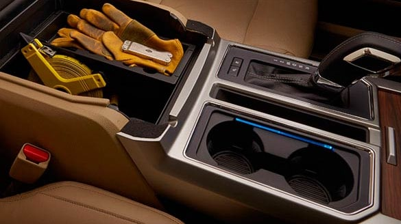 2016 Ford F-150 Lariat Interior Cupholders