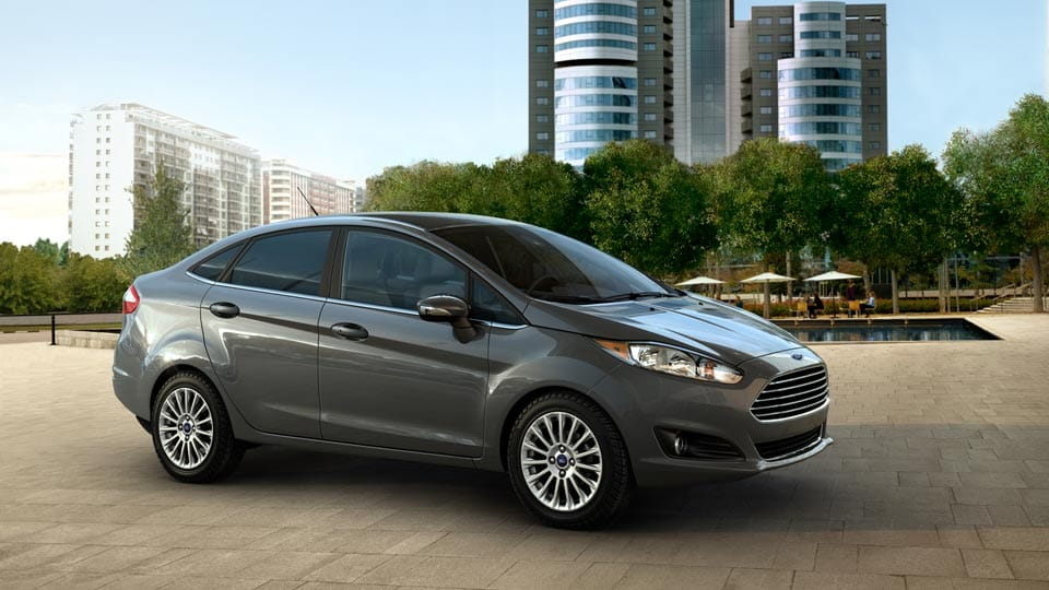 2014 Ford Fiesta Exterior Front